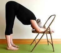 Yoga sur chaise