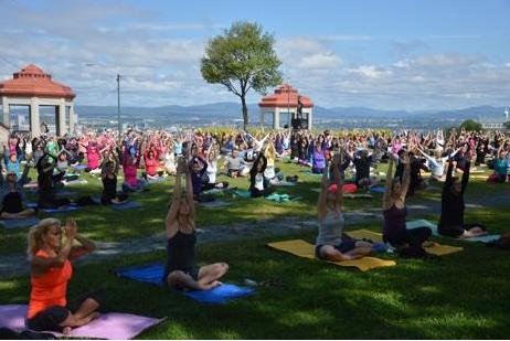 Rassemblement de Yoga à Lévis