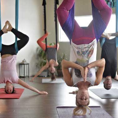 Air yoga hamac