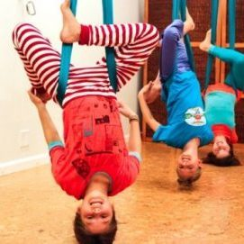 yoga air en famille