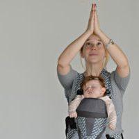 yoga namaste bebe